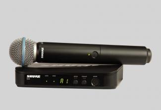 Micro Shure BLX24A/B58