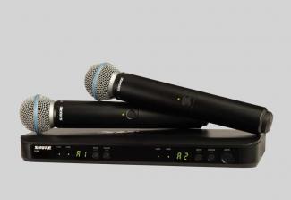 Micro Shure BLX288/Beta58 (2micro)
