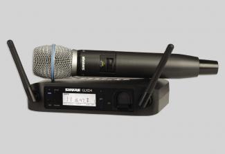 Micro Shure GLXD24A- BETA 87A