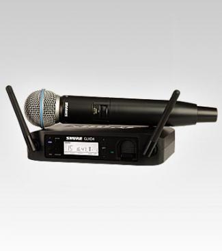 Micro Shure GLXD24 A/Beta58
