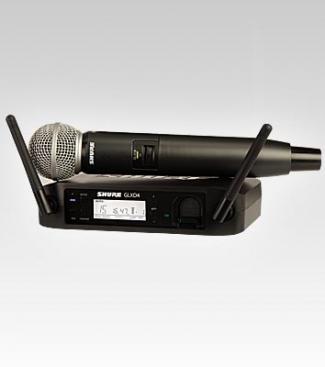 Micro Shure GLXD24A/SM58