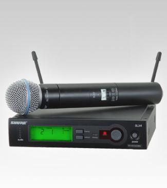 Micro Shure SLX24/Beta58
