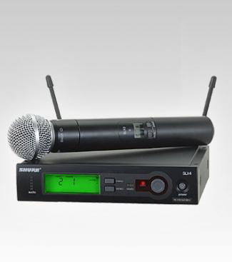 Micro Shure SLX24/SM58
