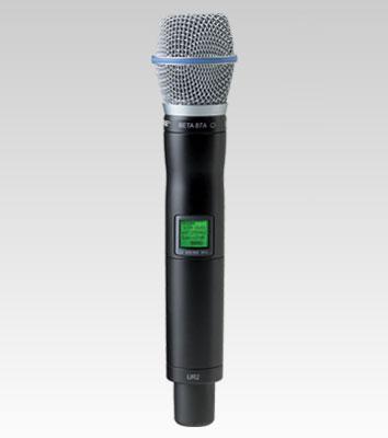 UR2/BETA87A-Bộ phát Micro không dây cầm tay