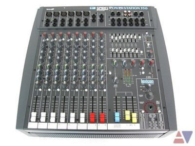 Mixer Soundcraft liền amply power sation 350